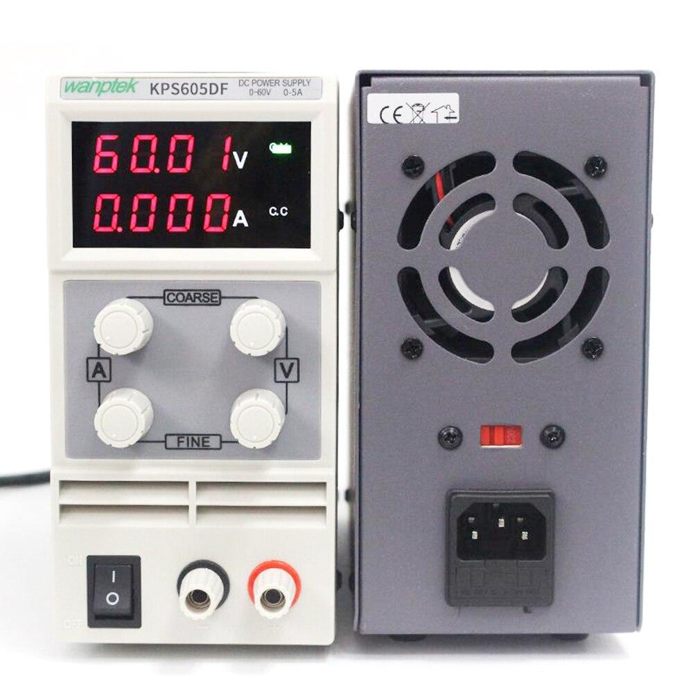 4 قطعة KPS605DF قابل للتعديل عالية الدقة مزدوج LED عرض التبديل DC امدادات الطاقة حماية وظيفة 60V3A