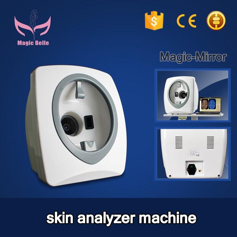 عالية الجودة مرآة سحريّة محلل البشرة الوجه ماكينة تحليل مشكلات البشرة أدوات تجميل الوجه محلل ماسح للاستخدام المنزلي صالون