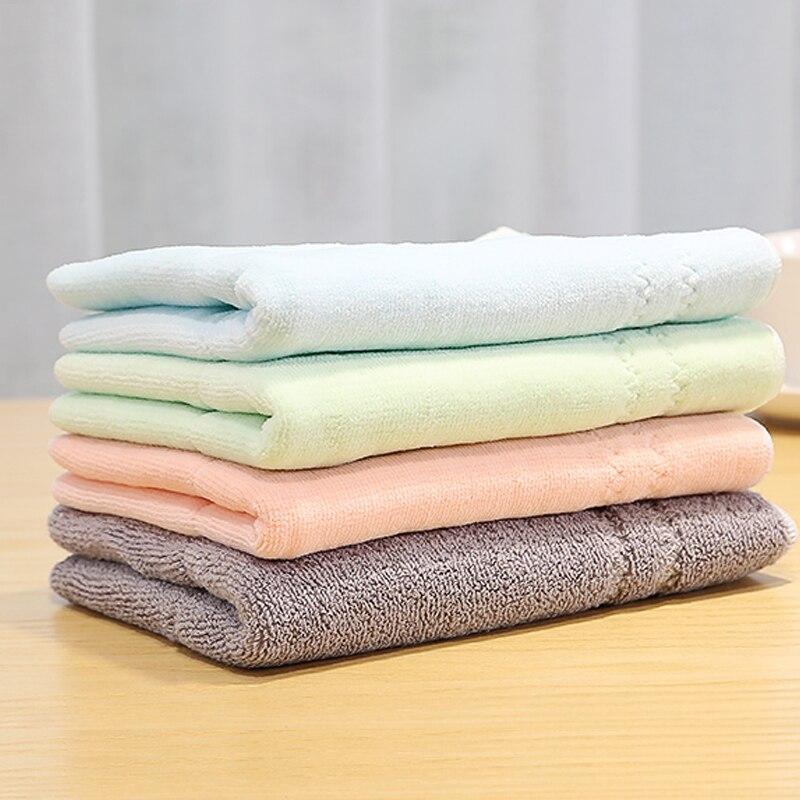 Toalla de baño de algodón sólido resistente al agua, de látex Natural, altamente absorbente para la cara