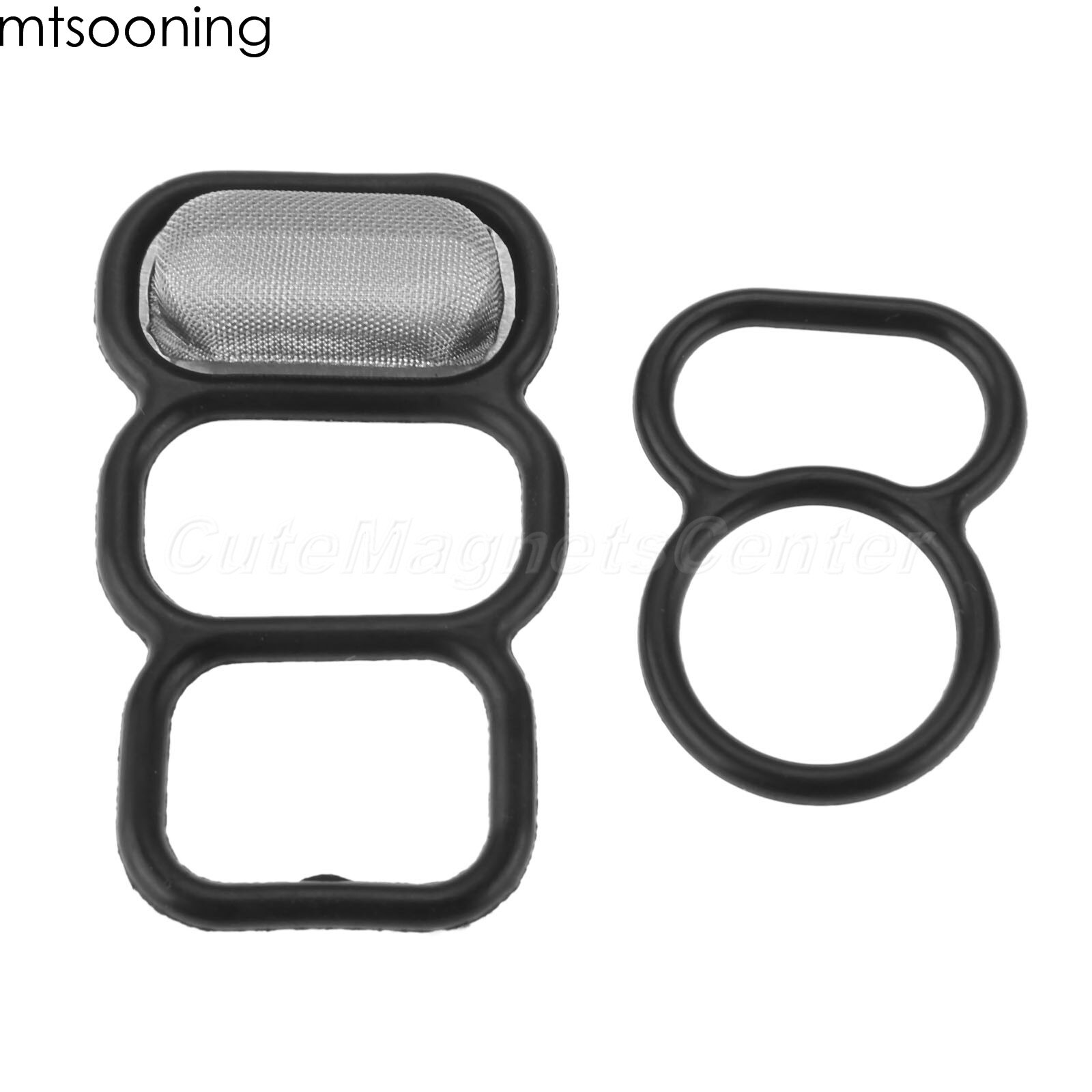 Mtsooning Kit de joint de bobine   Vanne de bobine VTEC pour Honda 4 cylindre Accord Odyssey Acura CL 2 pièces