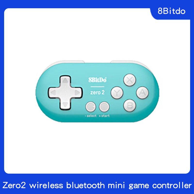 8Bitdo Zero2 wireless bluetooth mini gamepad mobile phone computer drawing NS gamepad
