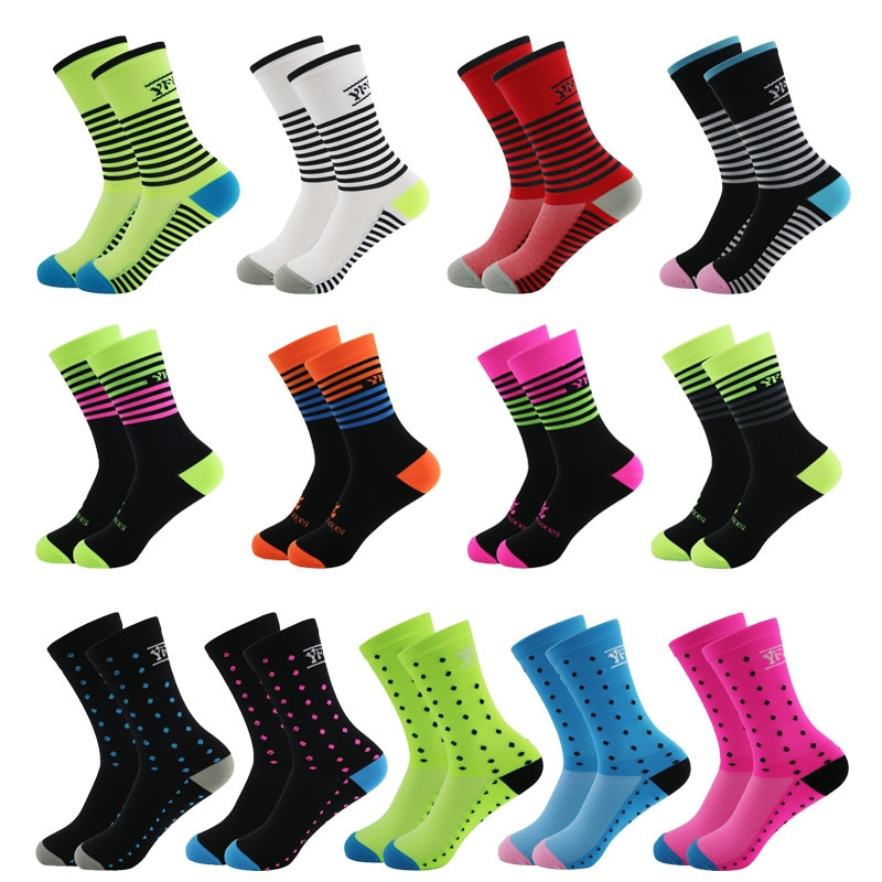2020 брендовые красочные спортивные носки для велоспорта, бега, мужские женские мужские спортивные носки, носки Coolmax для кемпинга, пешего тури...