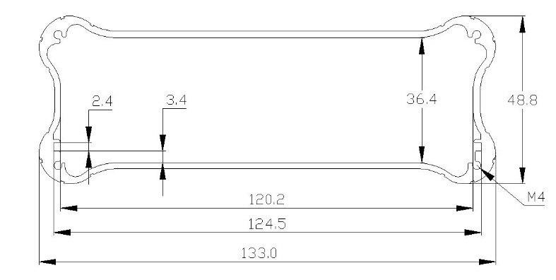 الألومنيوم التبديل أسود مربع 10 قطعة/الوحدة أرخص في شنتشن هوا تشيانغ الشمالية الألومنيوم مربع السوق مرفقات صالح Pcb حجم