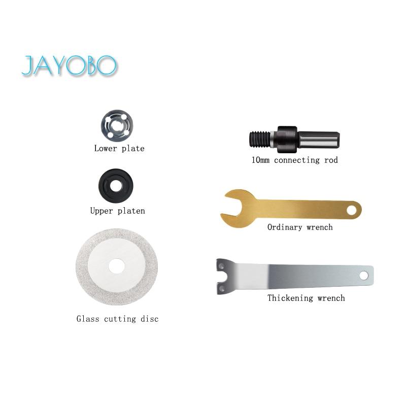 JAYOBO (Corte de vidrio)Para Conectar Conjunto De Varillas Cortar De Mano Taladro...