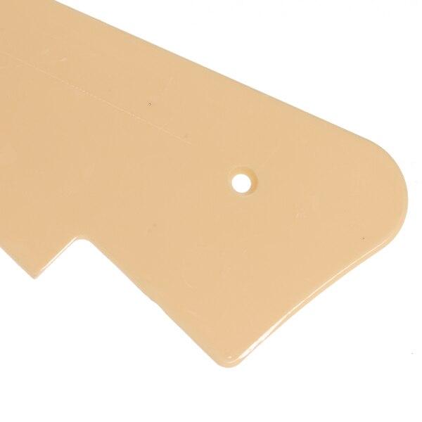 Golpeador de guitarra de una sola capa ABS Crema para Les Paul LP accesorios de guitarra