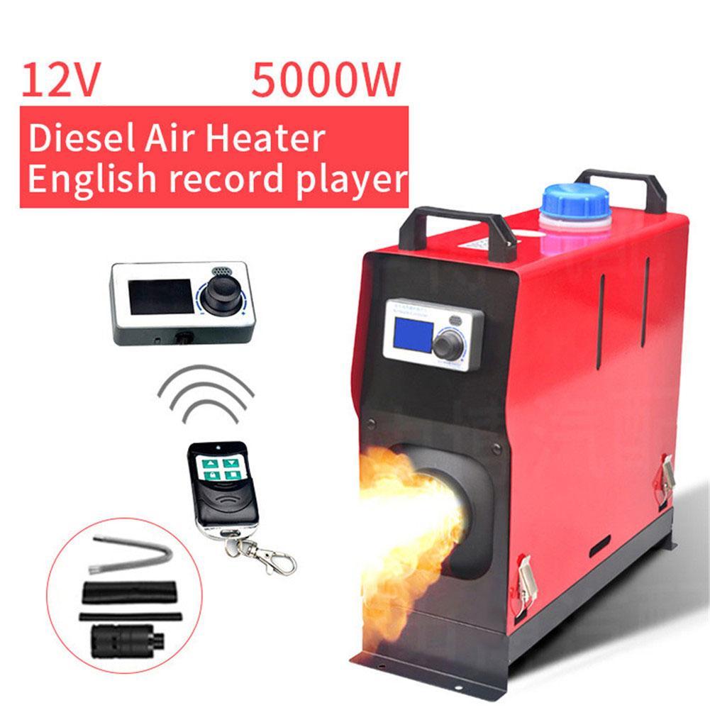 Goxfaca 5KW Universal Car Diesel Fuel Air Parking Heater For Trucks / Motor-home / Boats / Camper Van Winter Warm
