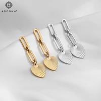ascona exquisite mini circle earrings for women small simple retro hong kong style high sense new earrings original design