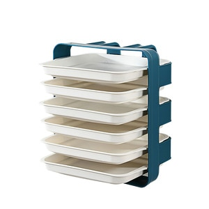 Detachable Multi-Layer Shelf For Kitchen Household Wall-Mounted Racks Side Dishes Rack Hot Pot Dishes Vegetable Drain Plate 1pc