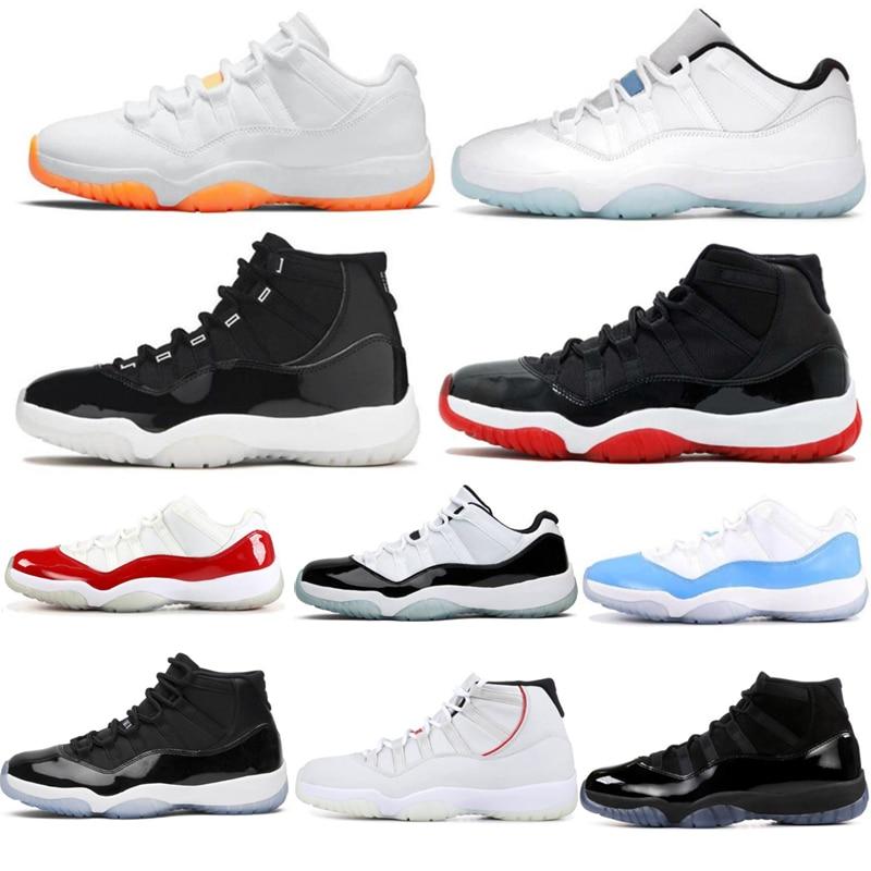 Concord Men Casual Sneakers11S Bred 45 High Gamma Blue 11 Hombre Athletic Women Shoes Comfortable Black Sneakers Zapatillas