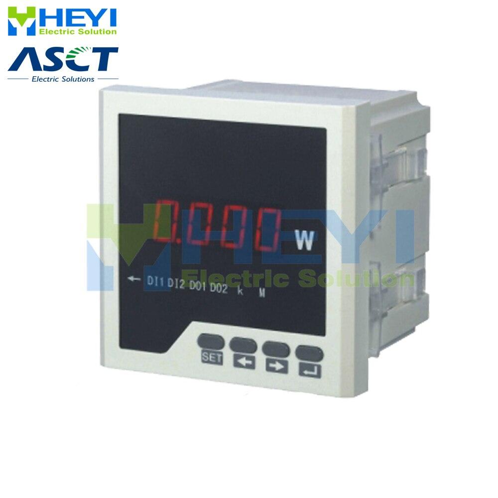 Medidor de potencia activo digital monofásico clase 0,5 LED AC digital con RS485