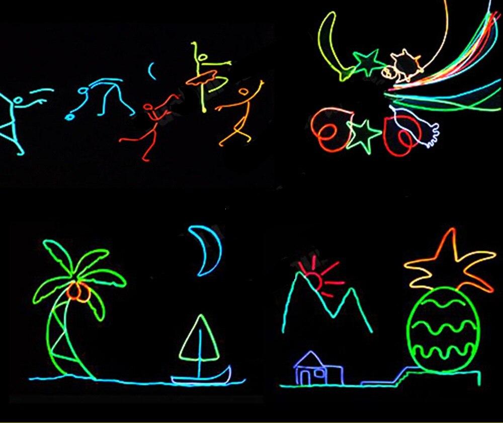 Провод супер яркий портативный, EL провода, неосветильник свет, декор для танцевальной вечеринки светильник оновая светодиодный лампа, гибк...