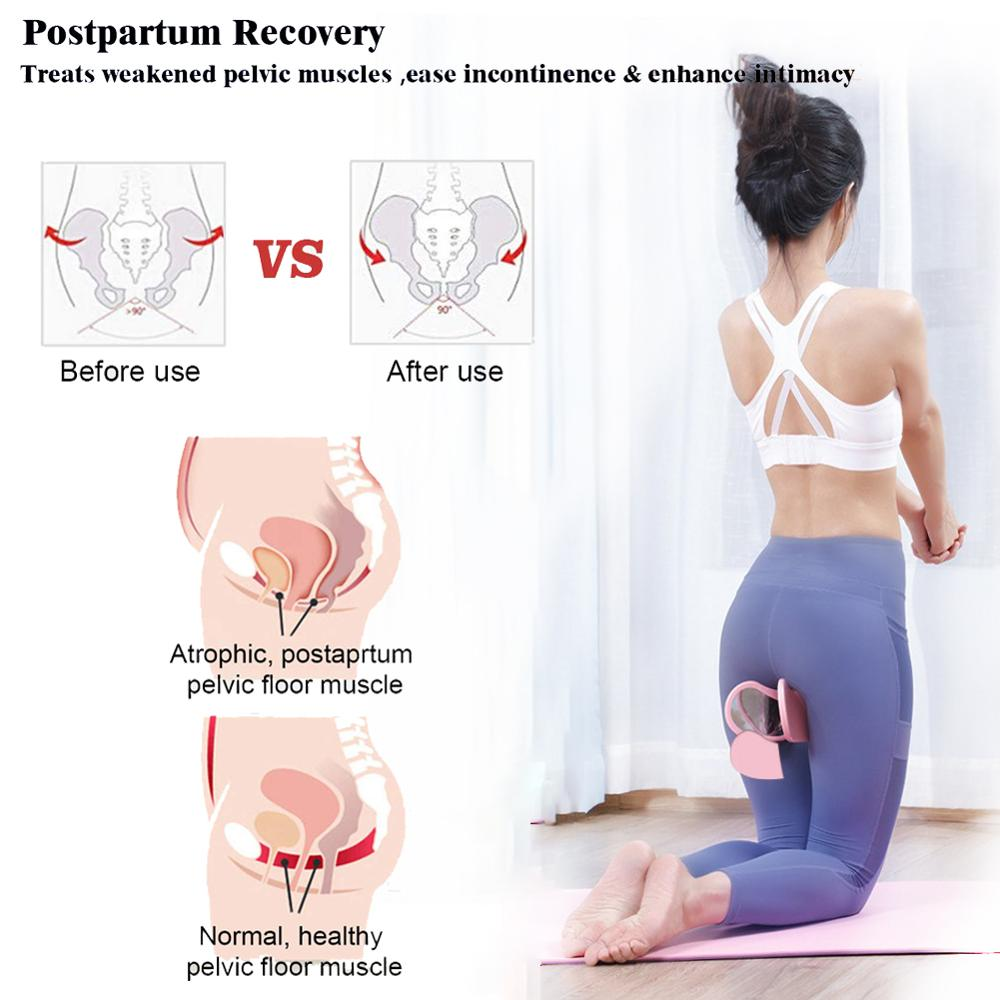 Bladder Control Device trainer Pelvic Floor Muscle Inner Thigh Buttocks Exerciser Bodybuilding Home