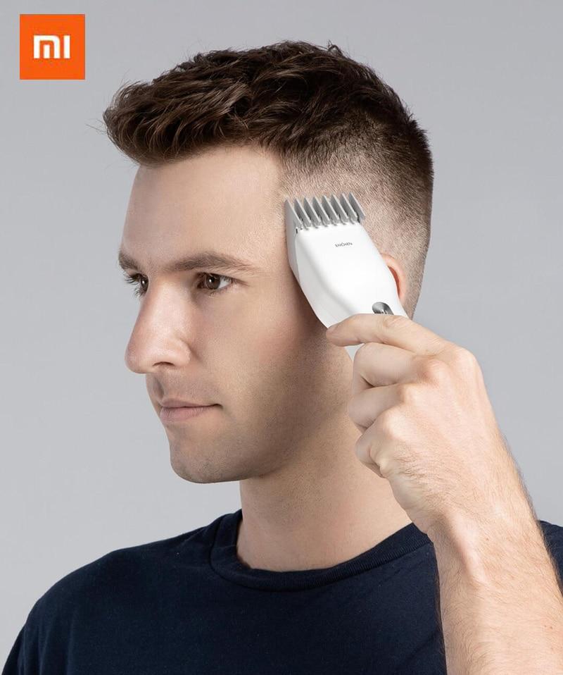 Cortadora de pelo eléctrica USB Xiaomi ENCHEN Boost, cortadora de pelo de carga rápida, cortadora de pelo para niños, cortadora de pelo de cerámica de dos velocidades
