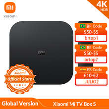 ТВ-приставка Xiaomi Mi, прошивка Global Version, 4K HDR с поддержкой Android