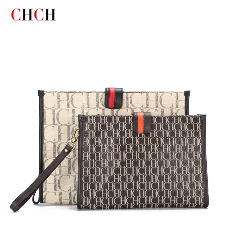 CHCH New Fashion Handbag Messenger Bags Luxury Wristlet Coin Card Holders Zipper Hasp Clutch Designe
