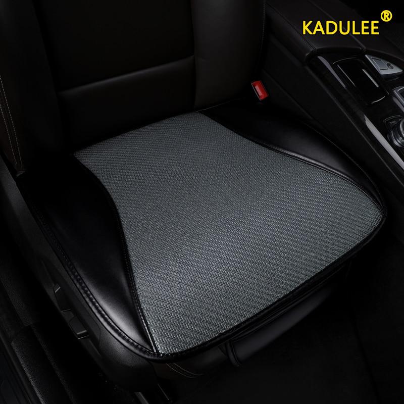 KADULEE silk Car Seat Covers for Hyundai solaris tucson ix35 i30 ix25 i40 ix55 Elantra MISTRA Grand Santa fe accent car seats