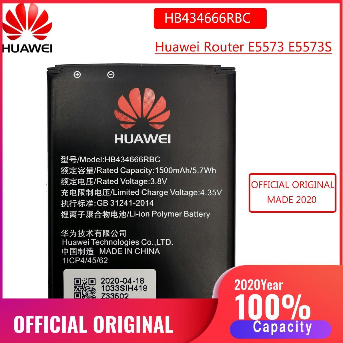 HB434666RBC batería Original para Huawei Router E5573 E5573S E5573s-32 E5573s-320 E5573s-606 -806 baterías de repuesto Bateria