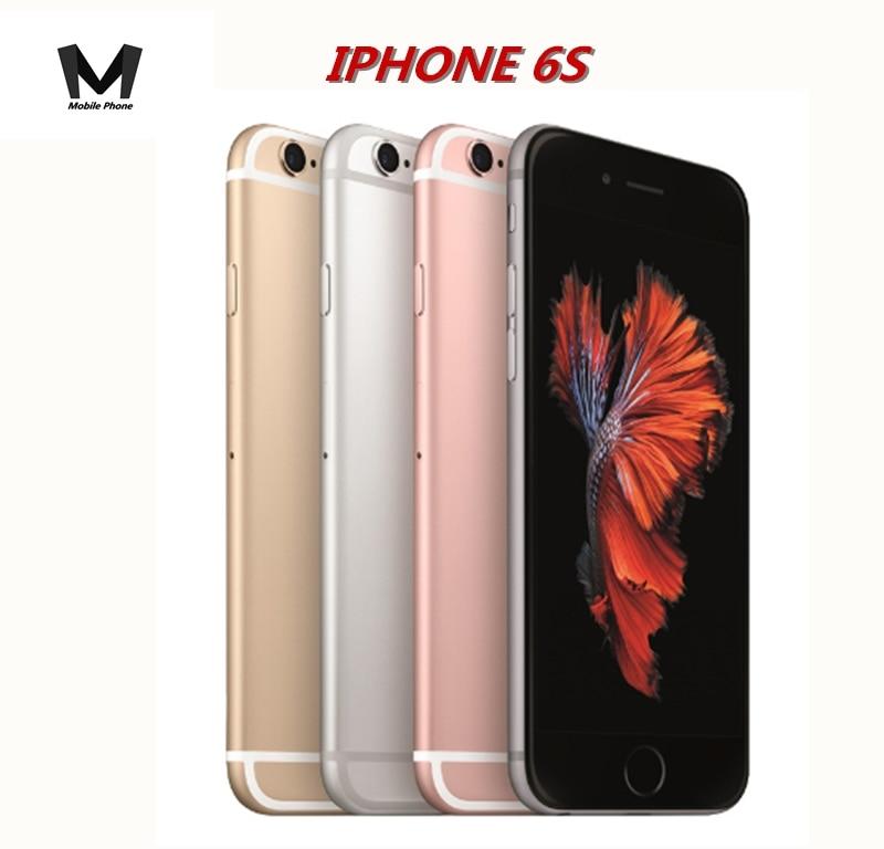 Get Apple iPhone 6s 4.7″ 4G LTE 2GB RAM 16/64/128GB ROM Dual-Core IOS 12MP Fingerprint Recognition Used Unlocked Smartphone