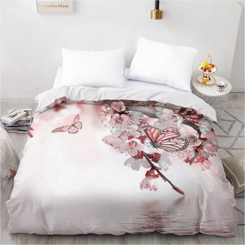 غطاء لحاف ثلاثي الأبعاد مخصص ، 200 × 200 ، 220 × 240 ، مفرش سرير من الألياف الدقيقة ، سرير كوين كينج للبالغين ، لحفلات الزفاف