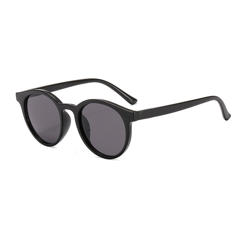 Cute Student Vintage Sunglasses Women Glasses 2021 Summer Fashion Shades Mirro Eyewear Transparent Yellow Color Blue Okulary New