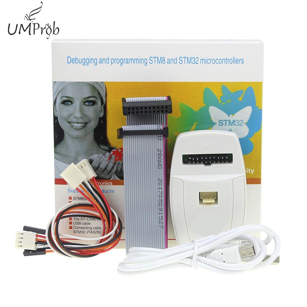 2020!ST-LINK/V2 ST-LINK V2(CN) ST LINK STLINK émulateur gestionnaire de téléchargement STM8 STM32 appareil artificiel
