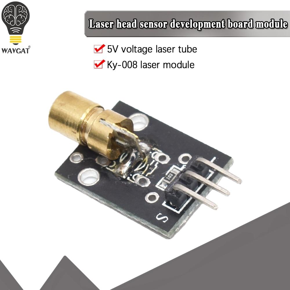Умная электроника Новый KY-008 3pin 650nm кра�
