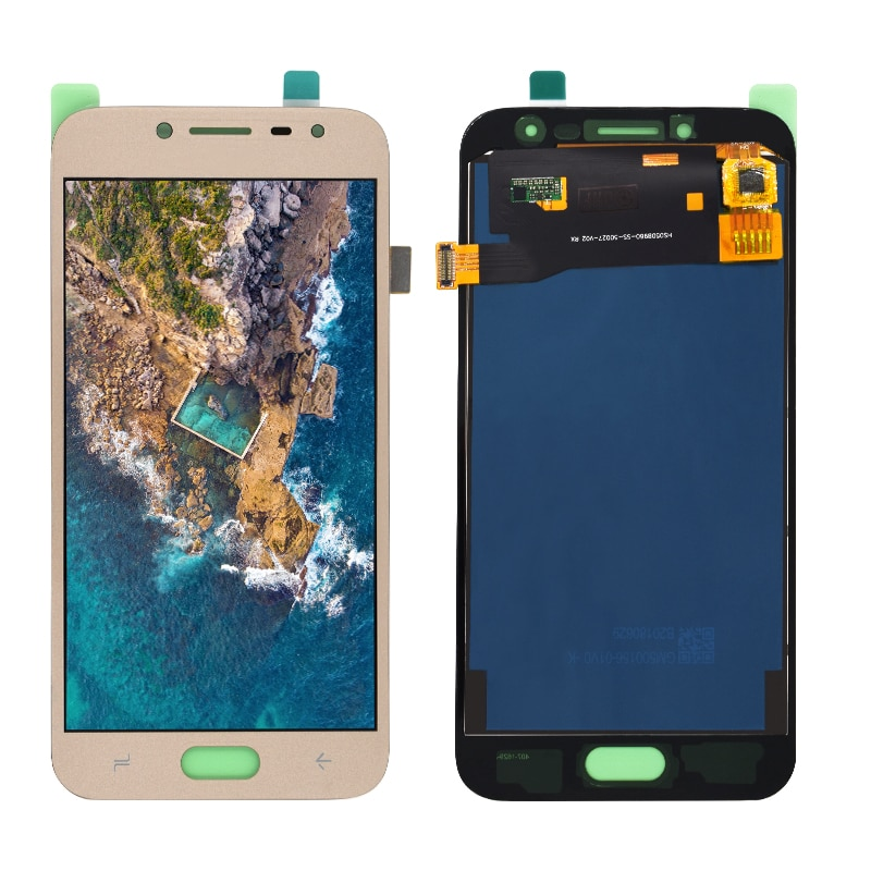 Ajuste de brillo J250 pantalla LCD para Samsung Galaxy J2 Pro 2018 J250 J250F J250H pantalla LCD montaje digitalizador de pantalla táctil