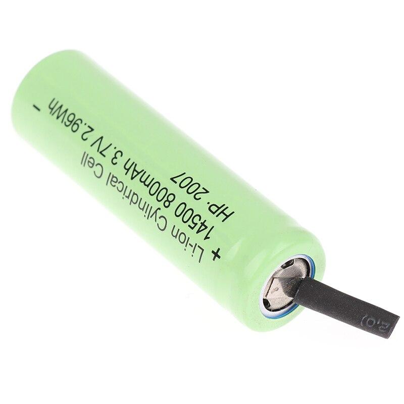 Фото - Электрическая машинка для стрижки волос, 800 мАч, 3,7 в, аксессуары, Парикмахерская батарея для Andis D8 машинка для стрижки andis d8 черный насадок в компл 4шт