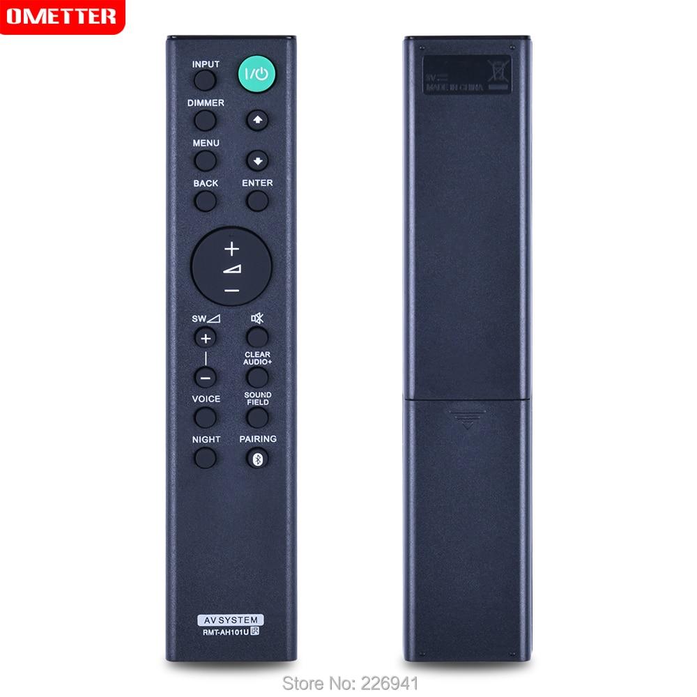 Som sistema av controle remoto RMT-AH101U uso para sony soundbar sistema de controle remoto remotoHT-CT380 HT-CT780 SA-CT380 SA-WCT780