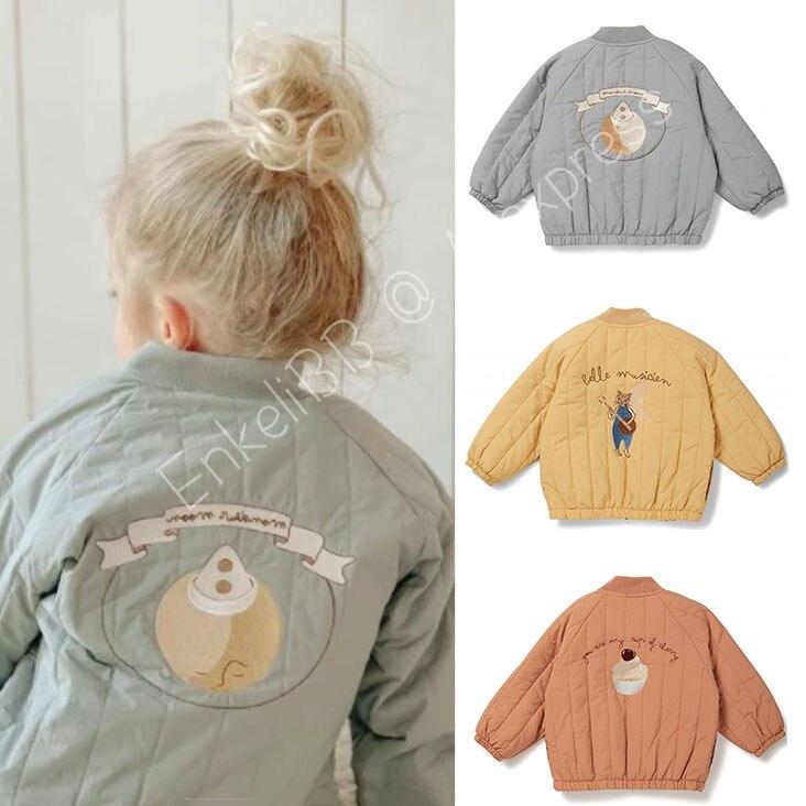 EnkeliBB KS Kids Winter Coat Brand Design Children Unisex Jacket Fashion Winter Autumn Keep Warm Coa