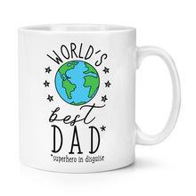 World's Best Dad 10oz Mug Fathers Day Funny Gift Coffee Ceramic Mug