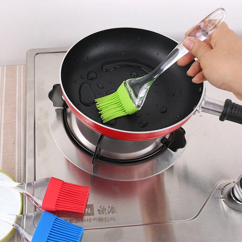 Cepillo de cocción barbacoa para Tartas, herramientas de silicona DIY para el hogar, crema de aceite para pan ecológica, cepillo para cocinar, utensilios de cocina de silicona