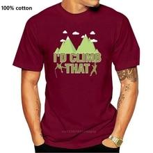 New Rock Climber Shirt Funny Boulder Climber Gift Women Men 2021 Fashion Short Sleeve