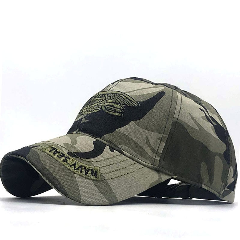 Hot Army Cap Camo Baseball Men Camouflage Snapback Tactical Mens Caps Gorra fishing Snapbacks 55-61CM