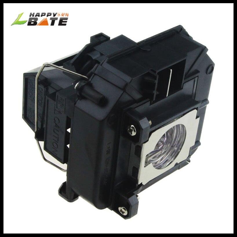 Лампа для проектора ELPLP64 для PowerLite D6250 D6155W PowerLite 935W 1880 PowerLit 1850W VS350W VS410 H425A с корпусом happybate