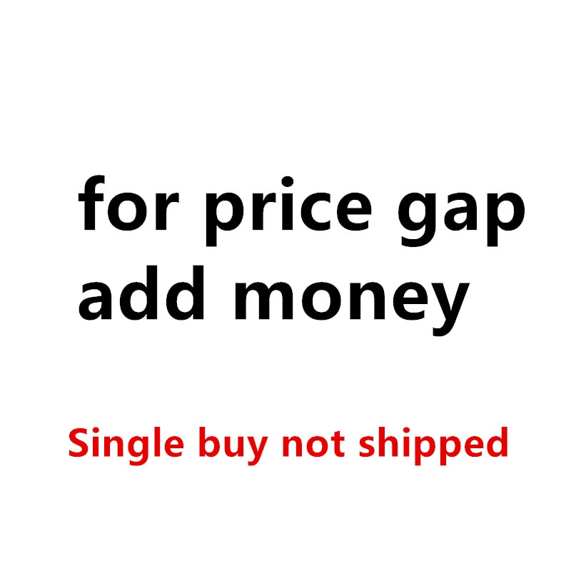 For The Price Gap- Add Money-Buy As Many As The Difference Price- Unit Price $1
