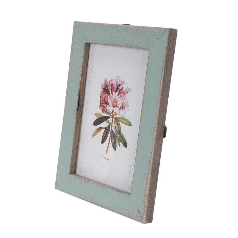 Marcos de fotos Vintage marcos de fotos de boda de madera (verde claro)