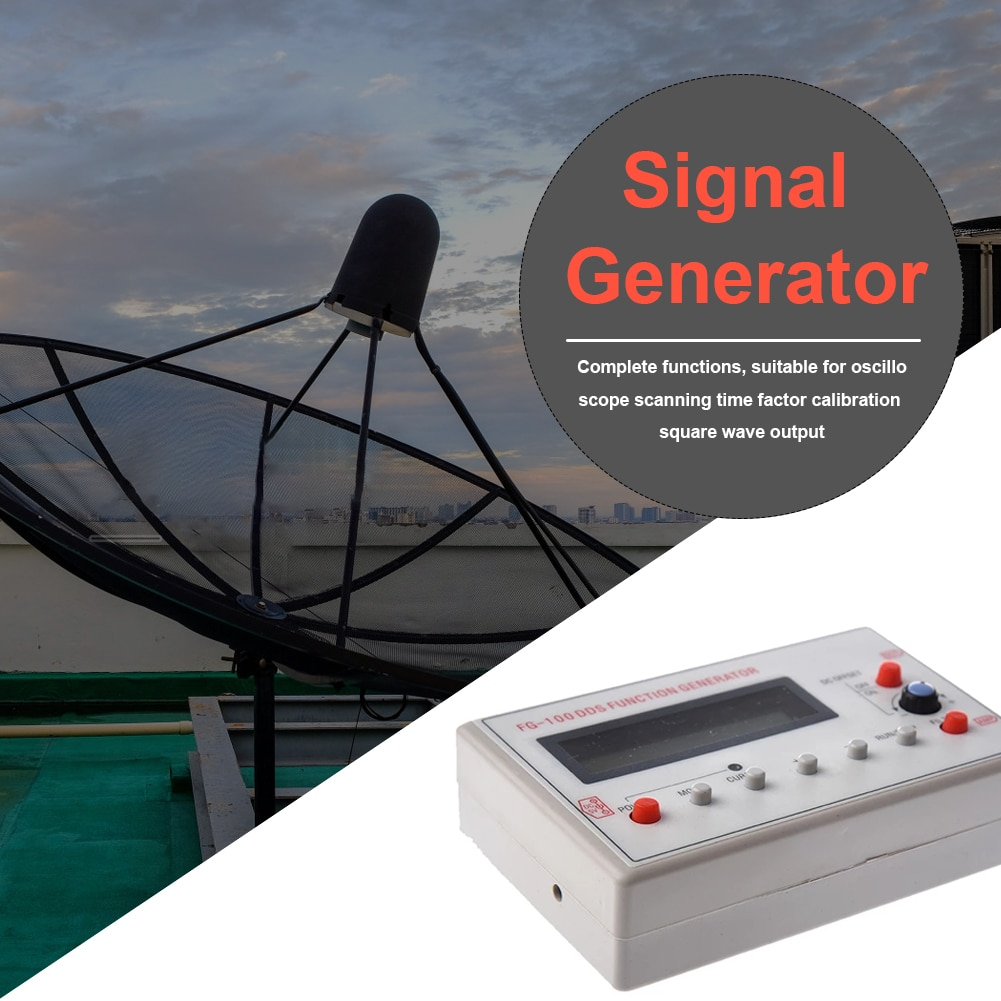 Repeater Power Amplifier Public Broadcasting Function Generator 1Hz-500kHz Sine Signal Cell Phone Signal Booster Amplifier