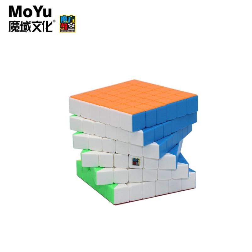 Moyu meilong 6x6x6 магический неокуб Moyu кубики Профессиональный головоломка скоростной кубик рубика Ранние развивающие игрушки игровой кубик снар...
