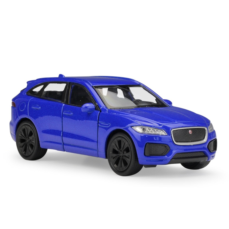 welly 24070 велли модель машины 1 24 jaguar f pace WELLY 1:36 JAGUAR  F-PACE Alloy Luxury Vehicle Diecast Pull Back Car Model Goods Toy Collection