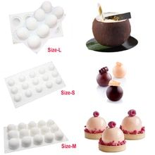 French Dessert Round Mousse Cakes Decoration Mold DIY Cakes Cookie Mousse Decoration Tools Professio