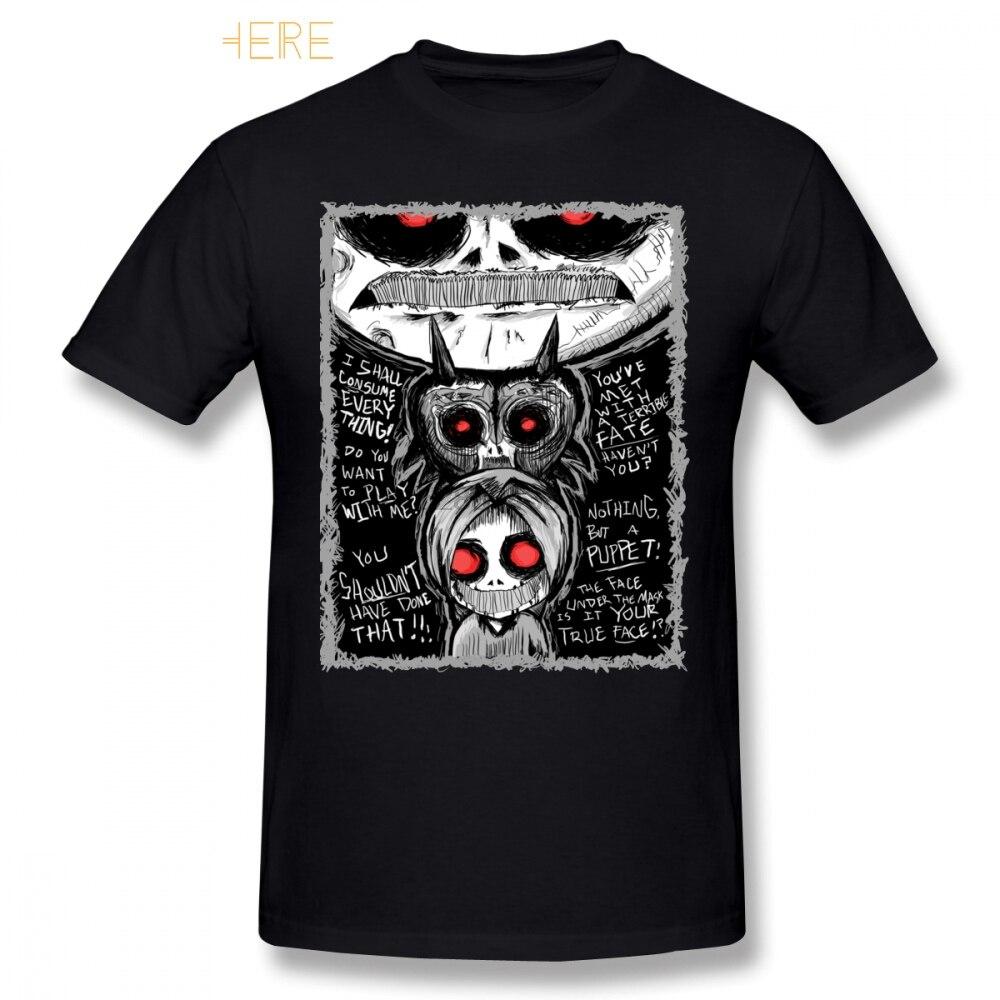 Camiseta de Creepypasta Ben ahogado CreepyPasta camiseta gráfica de manga corta Camiseta divertida 100 por ciento algodón hombres 5x playa camiseta