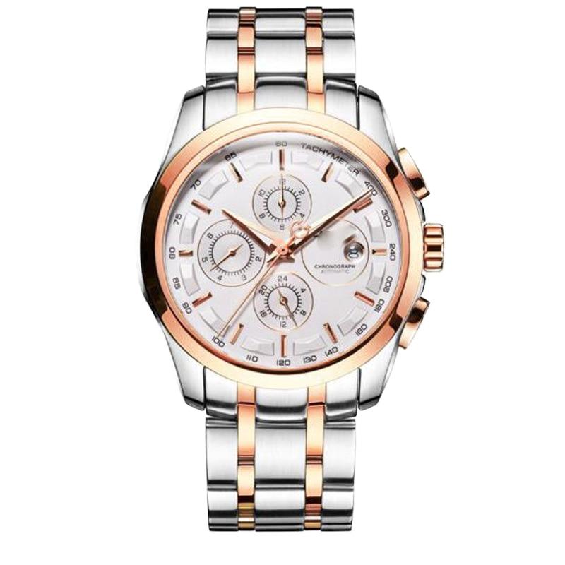 Top Brand Men's Watches Chronograph Waterproof Date Multi Functions -TISSOT- Quartz Watch TiSo1853 M