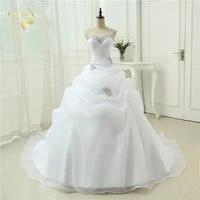 hot sale new arrival vestido de noiva a line bridal gown beading white ivory wedding dress 2021 robe de mariage casamento ow3199