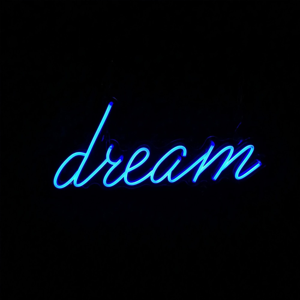 Dream Custom LED Neon Sign Can Personalized Neon Light For Bedroom Wall Decor Bar Cafe Club Party Decorative Light enlarge