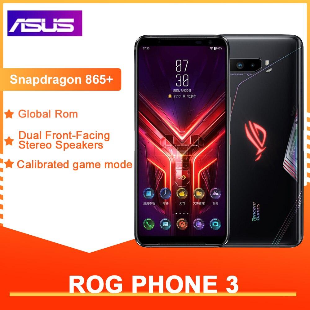 Перейти на Алиэкспресс и купить ASUS ROG телефон 3 глобальная версия игровой телефон 12 Гб ОЗУ 128/256/512 Гб ПЗУ OTA обновление Snapdragon865Plus 6000 мАч смартфон