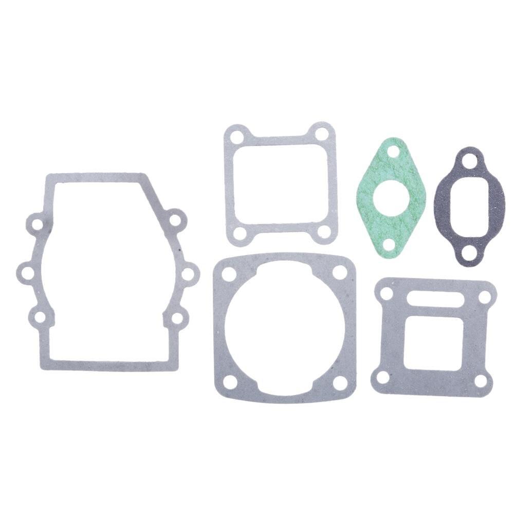 1 комплект, прокладка для мотоциклетного двигателя, головка и Базовая прокладка, набор для 2-х тактных 43/47/49cc мини-карманный квадроцикл, аксессуары для квадроциклов