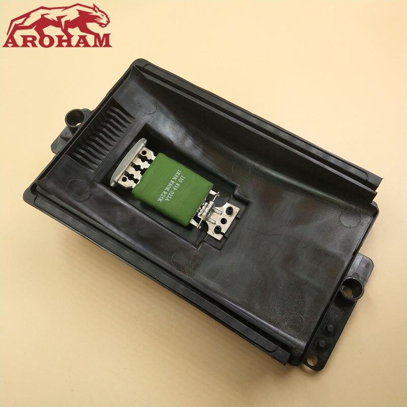 Aroham melhor qualidade para vw bora/golfe/lupo/novo besouro & polo aquecedor motor resistor 1j0 819 022a 1j0819022a RU-429