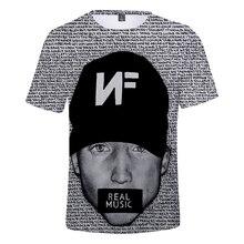 F.T Rapper Nathan John Feuerstein NEW Album The Search NF 3D print t-shirt Men/Women summer Casual Short Sleeve t shirt Clothes