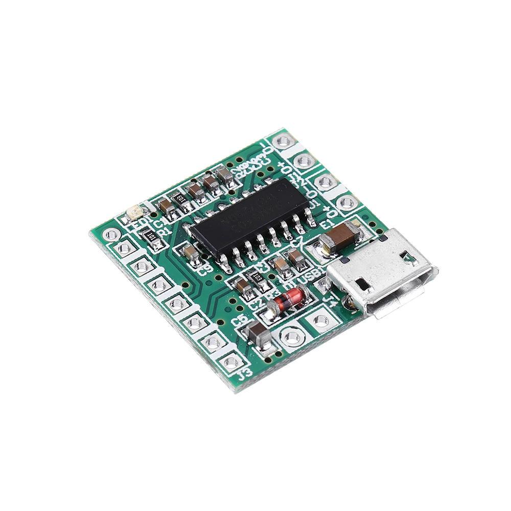 5 unids/lote PAM8403 DC 5V Mini Clase D 2x3W de potencia USB tablero amplificador de Altavoz Bluetooth tablero amplificador Digital Clase D